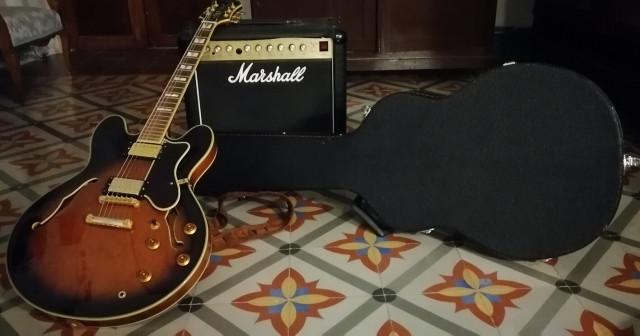 Guitarra eléctrica Epiphone Sheraton II + Amplificador