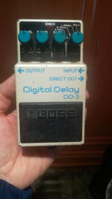 """Delay Boss dd3 blue label """"Japan"""" (Envio Incluido)"""