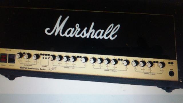 vendo o cambio amplificador Marshall 30 Aniversario