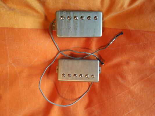 Pastillas Custombuckers, Lollar Imperial y Burstbuckers - CAMBIOS DENTRO