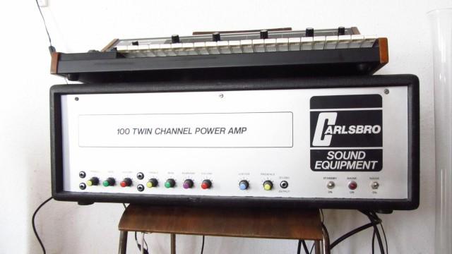 amplificador a valvulas de los 60 Carlsbro 100w