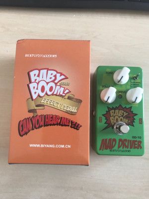 Pedal Overdrive biyang Mad driver  OD-10