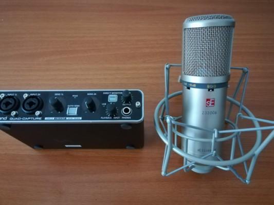 Vendo Micro SE Z3300A y Roland UA-55