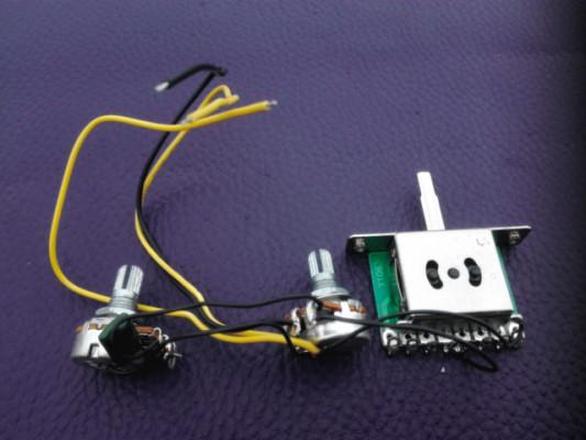 Arnés de cableado tipo Telecaster