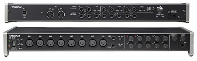 Interface Tascam US 16x08