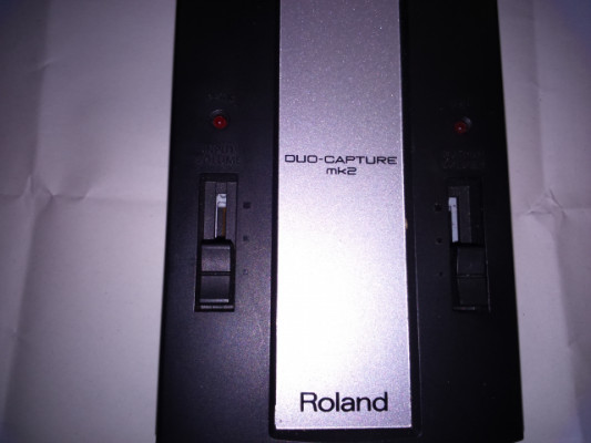 Tarjeta de sonido. ROLAND DUO-CAPTURE mk2