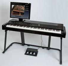 V-piano mas soporte y pedalera original