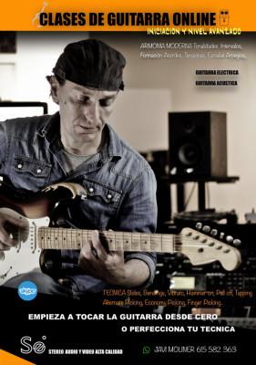 Clases de Guitarra y Armonia Moderna Online