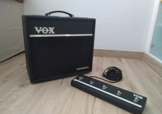 VOX VT40+ con Footswitch