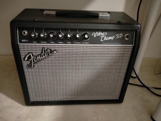 Fender Vibro Champ XD 5w a válvulas mejorado