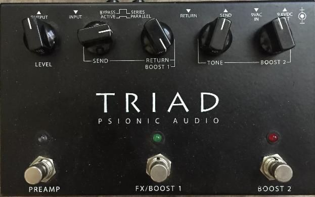 Psionic triad (cualquier versión)