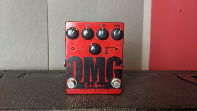 Tech 21: OMG distorsion pedal Signature Richie Kotzen