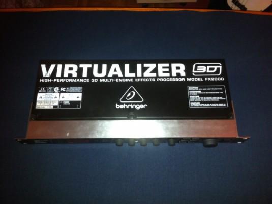 Behringer VIRTUALIZER 3D FX2000 REBAJADO!!!
