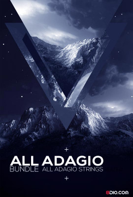 8DIO All Adagio Strings Bundle Instruments for Kontakt VST-AU-AAX