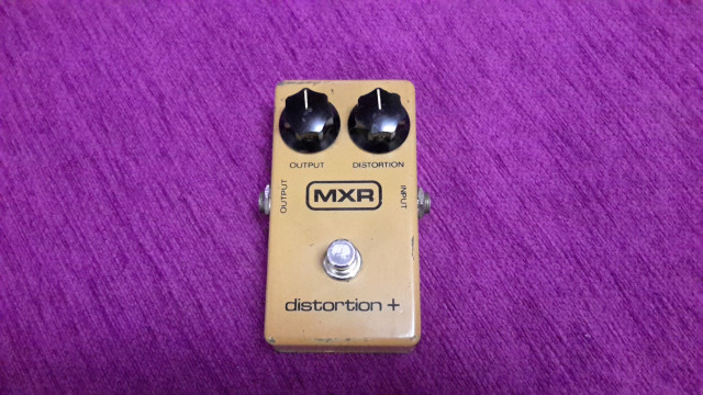 Vendo Pedal MXR distorsion + 70s