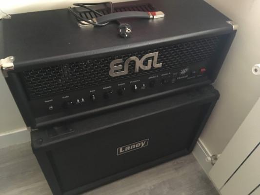 ENGL Fireball 65W + Pantalla Laney 2x12+NS2 Noise Suppresor puerta de ruido