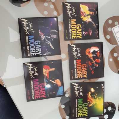5 discos! Gary Moore Montreaux
