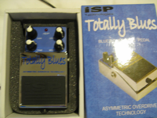 ISP Technologies Totally Blues Overdrive Pedal como nuevo