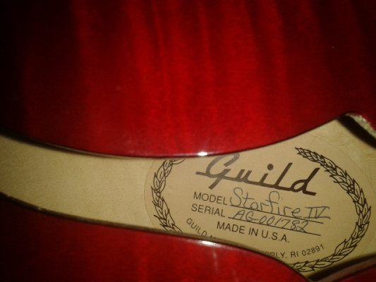 Guild Starfire IV made in USA (westerly)