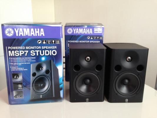 Yamaha MSP7 X 2