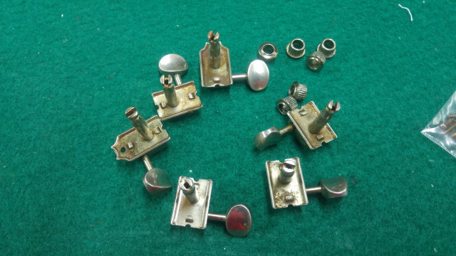 Clavojeros Gotoh made in japan relic 6 en linea