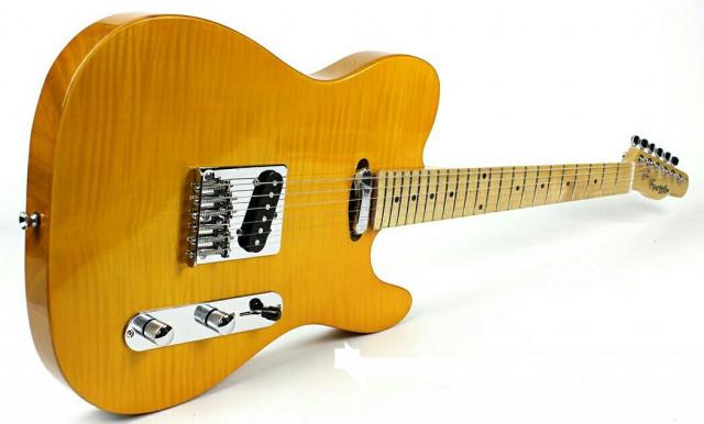 Guitarra estilo Telecaster