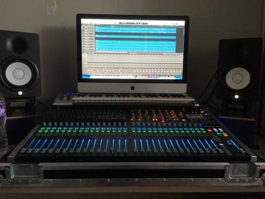 Soundcraft si performer 3 con Flycase a medida