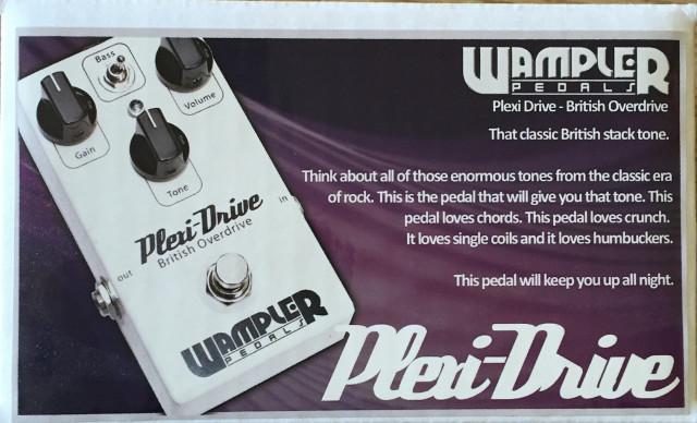 Wampler Plexidrive Overdrive