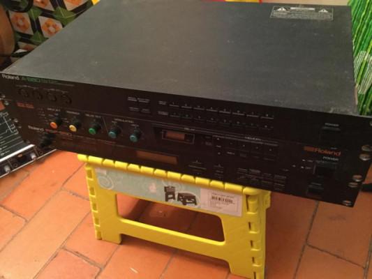 Korg PadKontrol + Roland A880 + Roland SDE1000