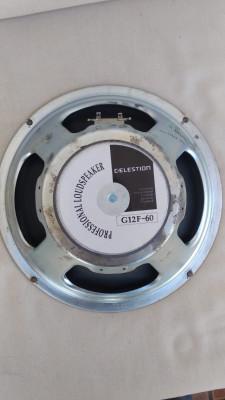 Celestion G12F-60   8 Ohm y 60 watt  TENGO 2