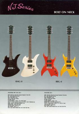 Busco una guitarra Bc Rich Bich NJ 1983-1984 Glitter Rock, Nagoya