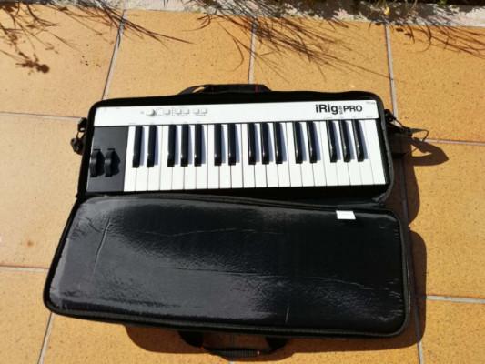 teclado midi I rig key pro