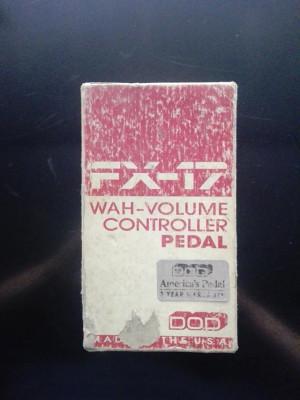 DOD FX-17 Wah/Volume