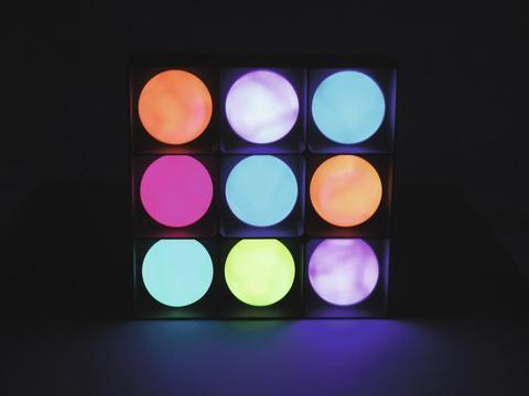 EUROLITE Panel LED ball 9