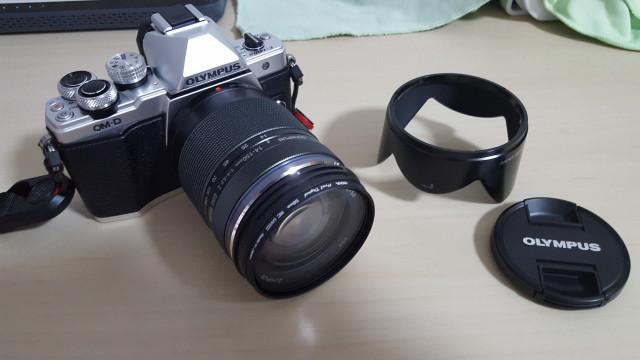 Cámara Olympus E-M10 II+Objetivo 14-150 II ED MSC KIT