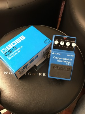 Boss cs-3 Compressor & Sustainer. Reservado!!!
