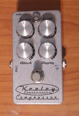 Keeley Compressor V. 4knobs