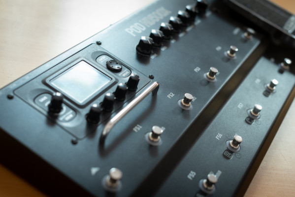 Line6 Pod HD500X/Fligh Case/Metal Pack