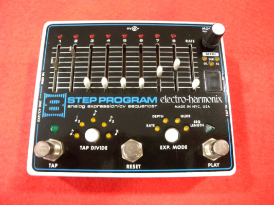 ELECTRO HARMONIX 8 - STEP PROGRAM