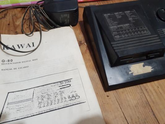 Kawai Q 80 secuenciador