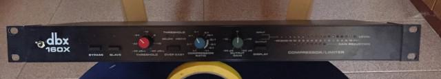 Compresor/limitador DBX 160X