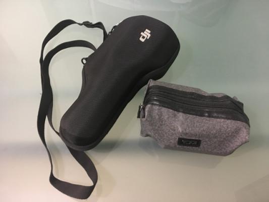 DJI Osmo con baterías y accesorios