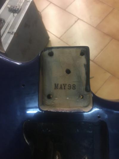 Guitarra +mastil aria pro 2