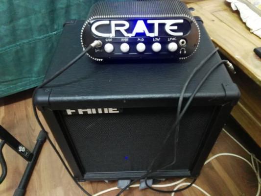 Cabezal, 150 wattios, crate powerblock