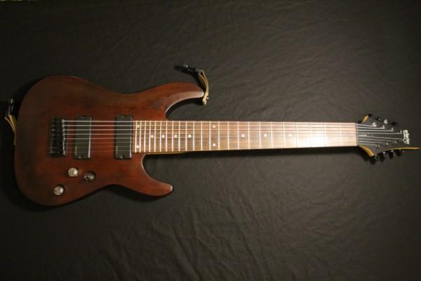 Guitarra Schecter Omen 8 + DiMarzio + Lundgren M8p