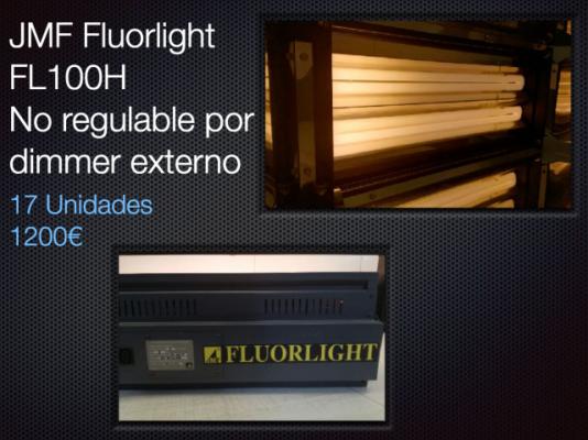 Paquetes iluminación para platós, cine y teatro.