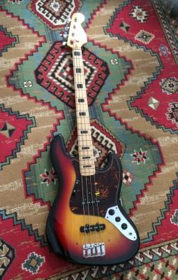 Bajo eléctrico jazz bass Suzuki antiguo
