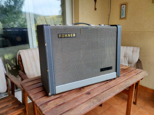 Hohner Orgaphon 30MH - 60's German full tube hand wire amp - Tremolo & Reverb