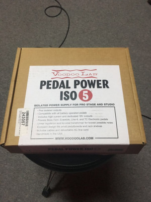 Voodoo Labs pedal power iso 5