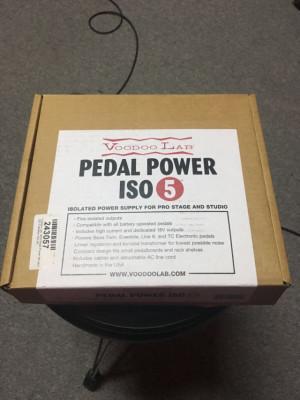 Voodoo Labs pedal power iso 5 Envio incluido!